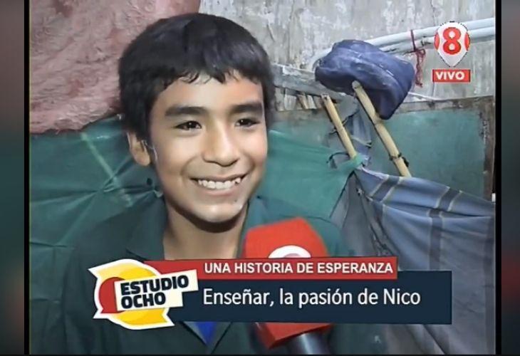 Pantallazo noticia de Nicanor