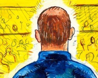 Ilustración de hombre que está de espaldas