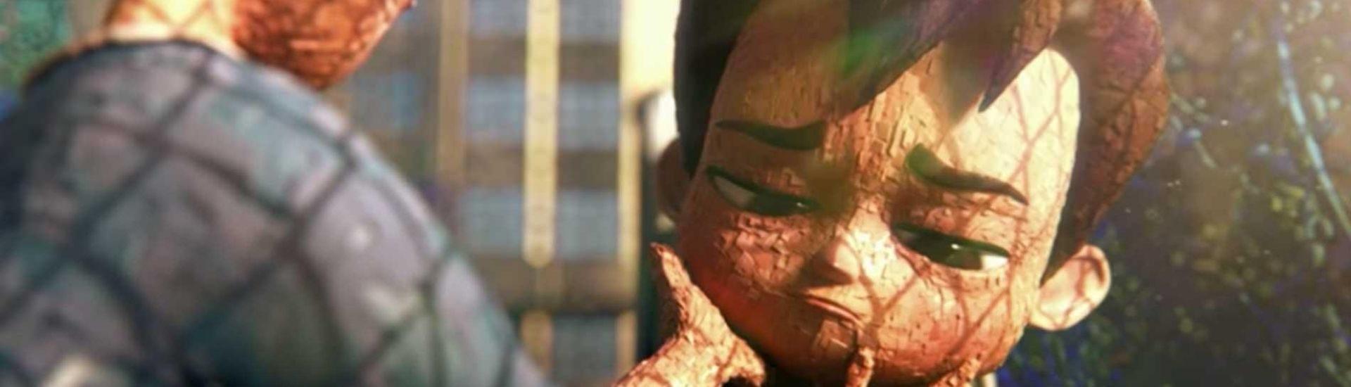Captura de pantalla de una de las escenas del cortometraje IAN