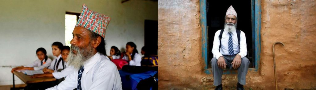 Dos fotografías de Durge Kami