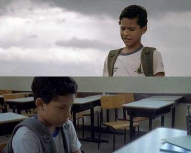 Dos fotos del cortometraje Mi amigo Nietzsche