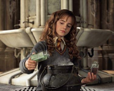 Imagen de Hermione en la película Harry Potter
