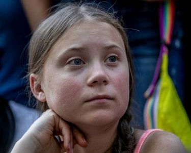 Foto de Greta Thunberg