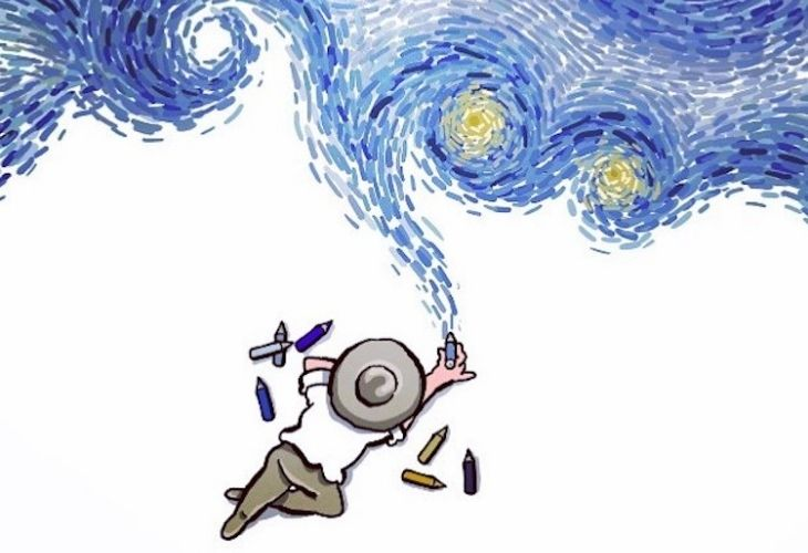Ilustración realizada por Alireza Karimi Moghaddam