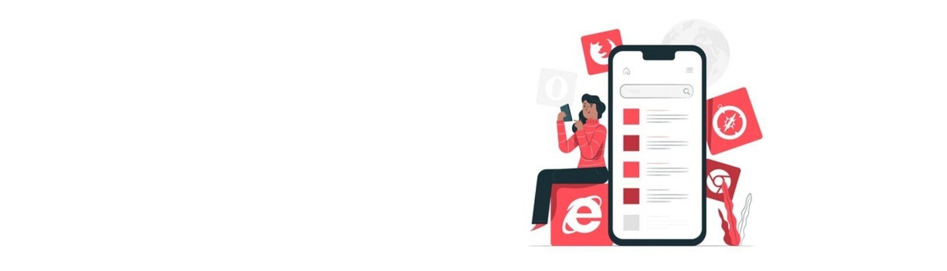 Mujer utilizando un celular
