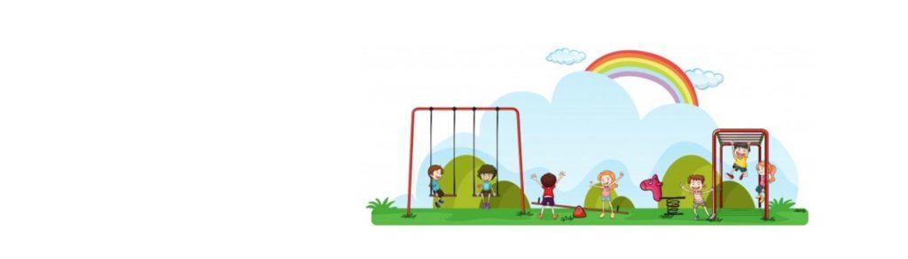 Imagen del patio de un jardín infantil