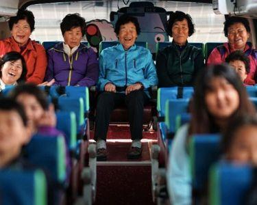 Foto de mujeres de la comunidad de Corea del Sur