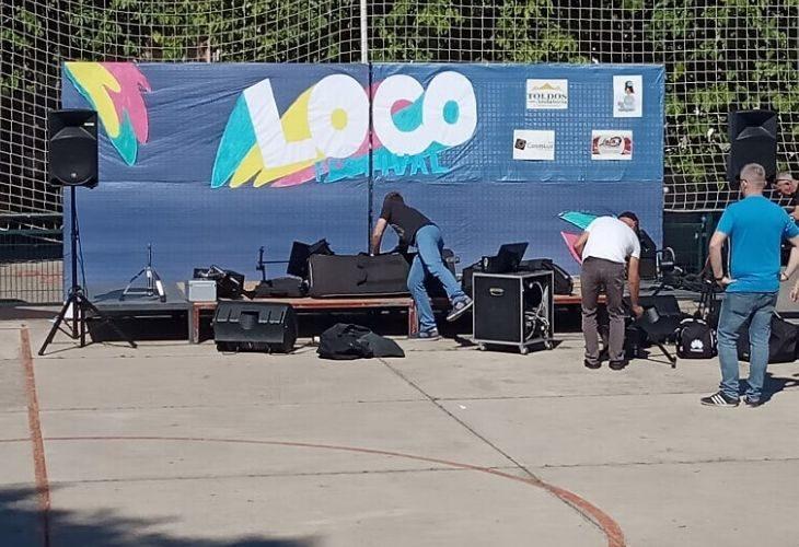Foto del escenario del evento