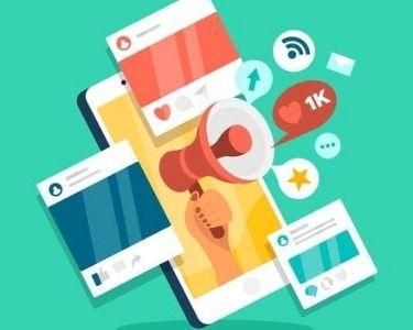 redes sociales ilustración