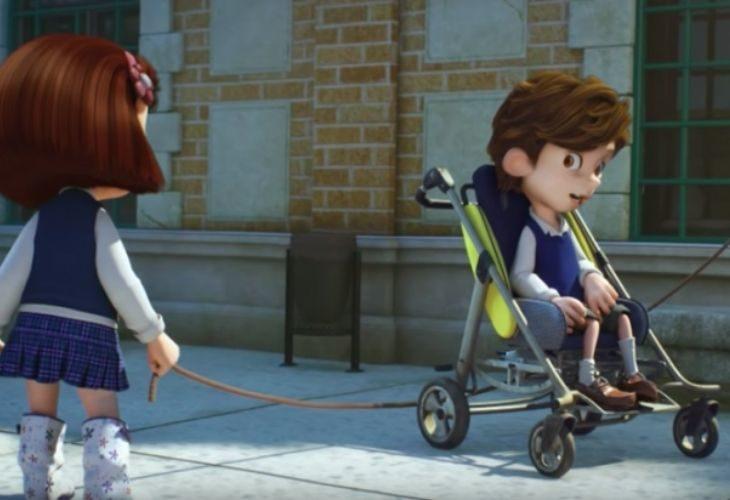 Captura de pantalla del cortometraje