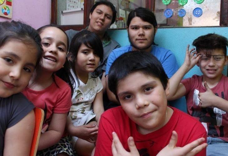 Foto de las y los estudiantes