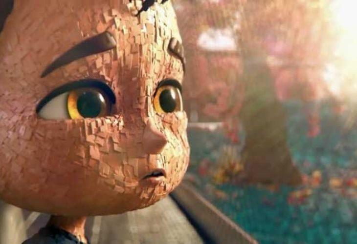 Foto de una escena del cortometraje