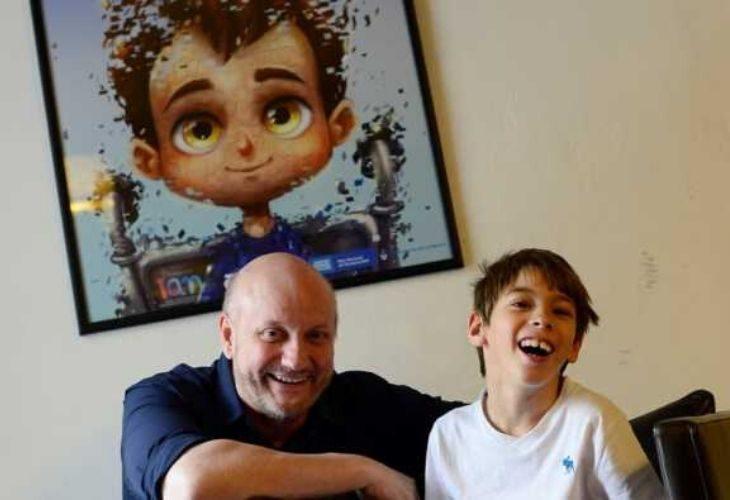 Ian y su padre