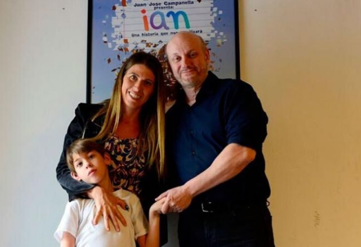 Ian y sus padre y madre