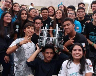 Una foto de los estudiantes