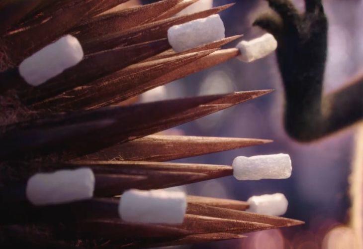 una captura de escena del cortometraje