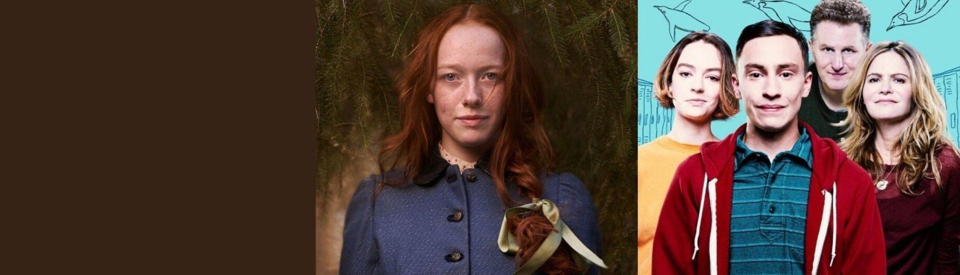 Imagen donde sale foto promocional de las series Anne with an E y Atypical