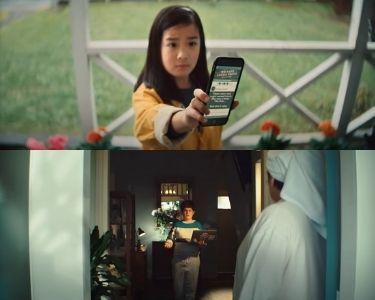 Imágenes de campaña sobre seguridad digital llamada keep it real