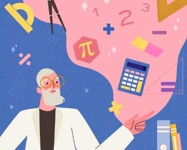 Ilustración de fórmulas matemáticas