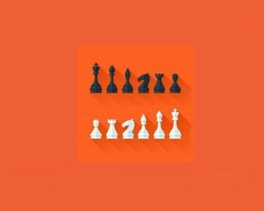 Ilustración de algunas piezas de ajedrez
