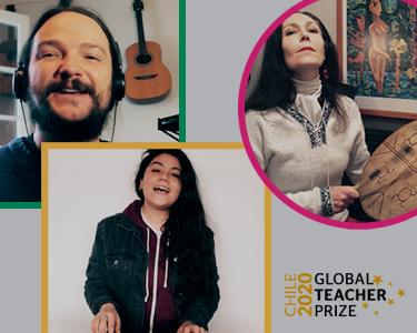 Imagen promocional donde aparecen: Yorka, Daniela Pastenes, Nano Stern y Juanita Parra