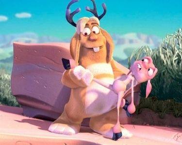 Captura de pantalla de escena del cortometraje