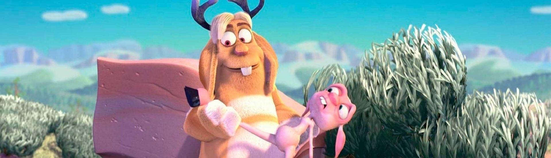 Captura de pantalla de una escena del cortometraje