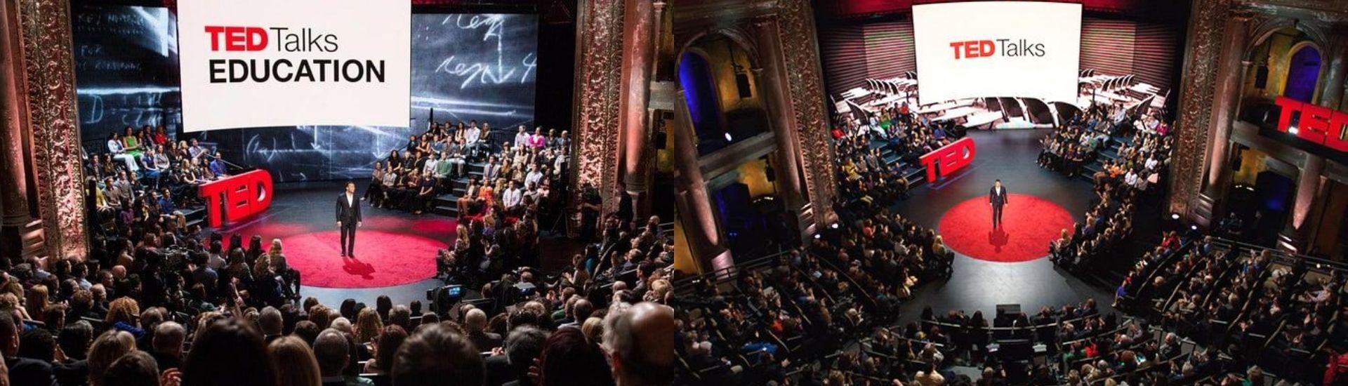 Imagen de las charlas TED