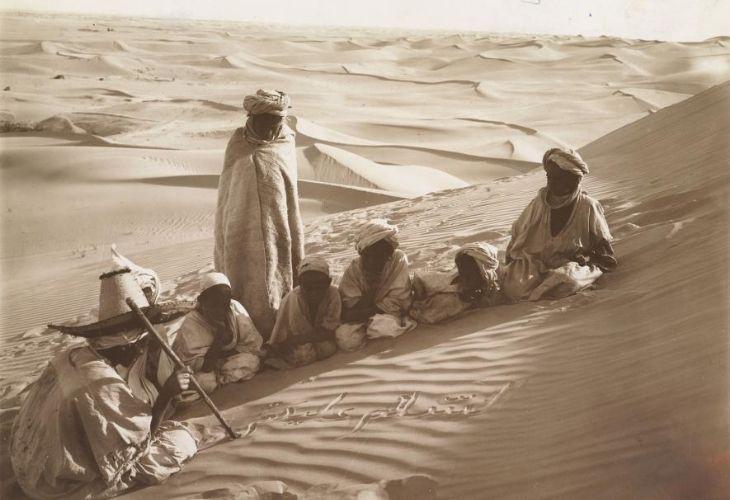 clases en el desierto