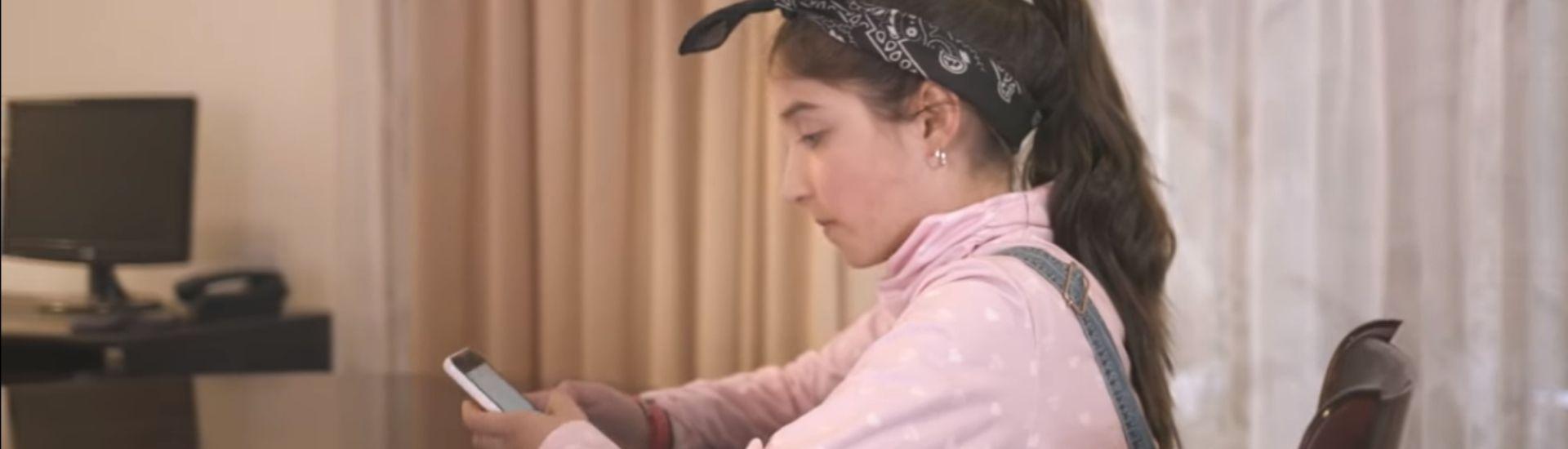 Imagen captura de pantalla del video del cntv