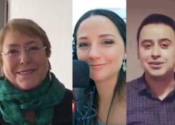 Michelle Bachelet, Andrea Aristegui, Alberto Lopez