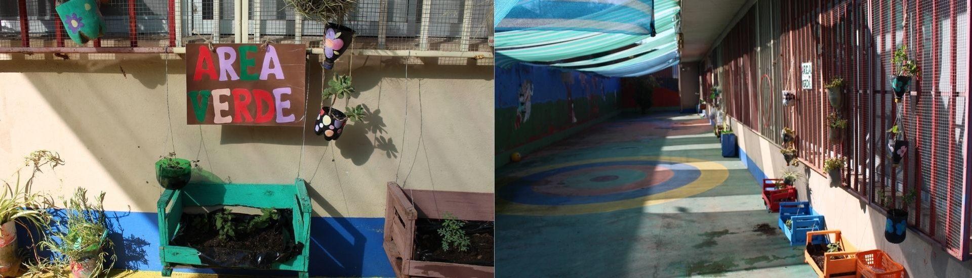 Area verde y patios de Jardín Infantil y Sala Cuna Ingeniero Luis Falcone