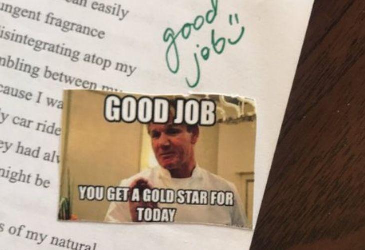Meme para revisar una prueba
