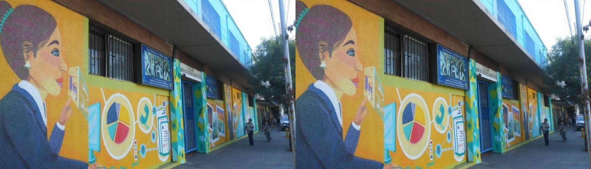 Mural de docente