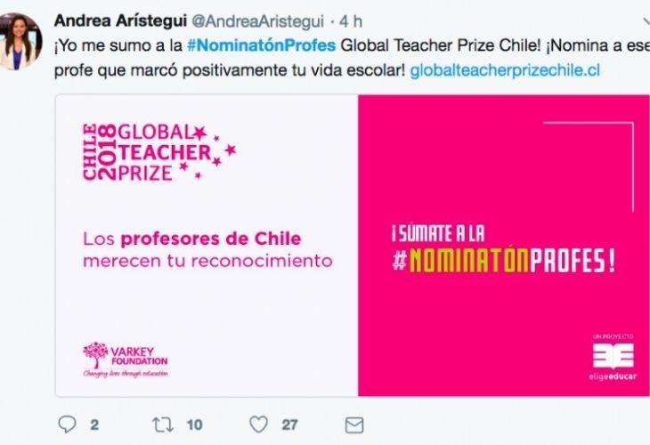 Twitter Andrea Arístegui