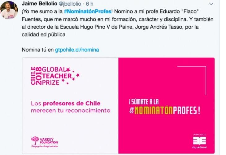 Twitter Jaime Bellolio
