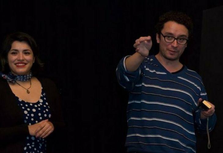 Camila y Francisco, creadores del proyecto.