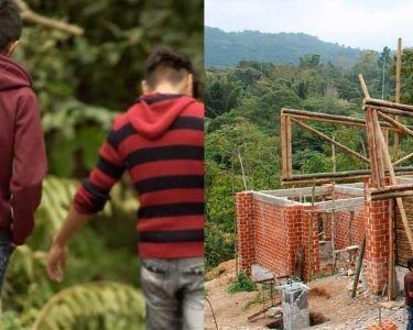 Construcción escuela México