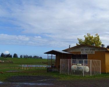 Imagen de una escuela rural