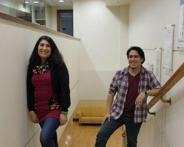 Miguel Robles y Lilian Sepúlveda