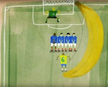 Ilustración de gol