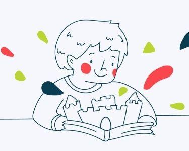 Ilustración de lectura