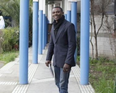 Jonas Bazile, profesor haitiano