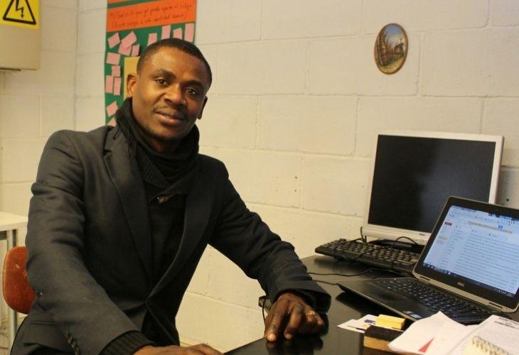 Jonas Bazile, profesor Haitiano en Chile
