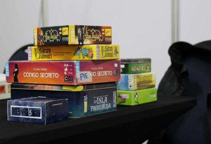 Juegos de mesa que contiene la ludoteca
