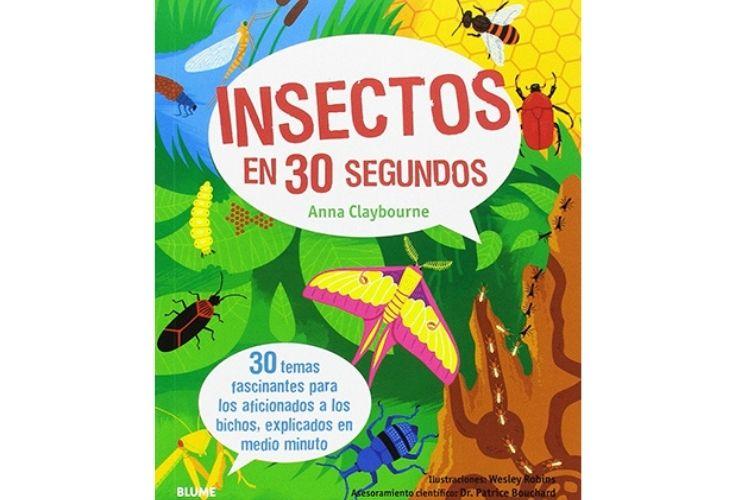 Libro _Insectos en 30 segundos_