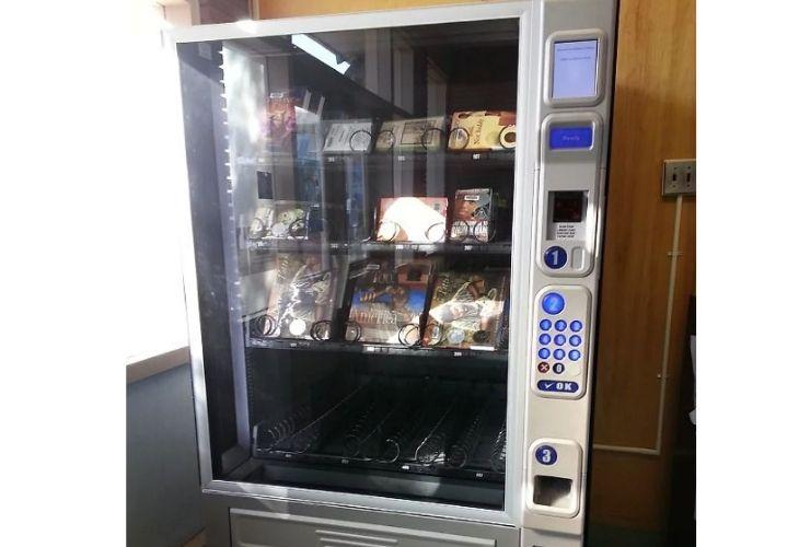 Máquina dispensadora de libros
