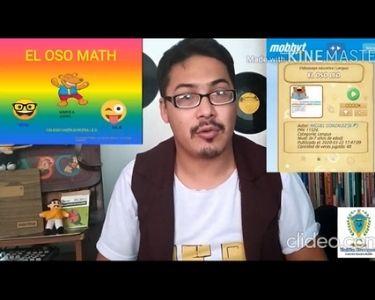 Profesor Miguel González en un video explicando cómo funcionan sus aplicaciones