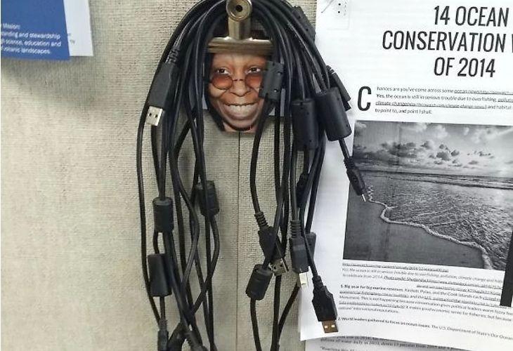 Recipiente para cables