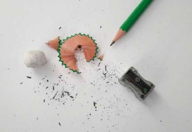 Sacar punta a los lápices